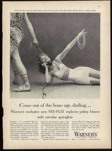 Warner's, Doyle Dane Bernbach Agency, New Yorker, 1955
