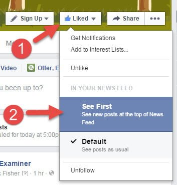 Tell Your Facebook Fans How To See Your Posts First
